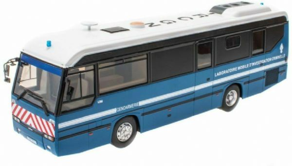 Hachette IXO HC76 1/43 Scale Lohr L96 IRCGN 105 Police Forensics Bus France 1996